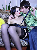 LoveNylons :: Hetty&Rolf awesome stockings duo