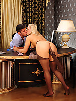 Anal-Pantyhose :: Flossie&Govard attractive anal pantyhose couple